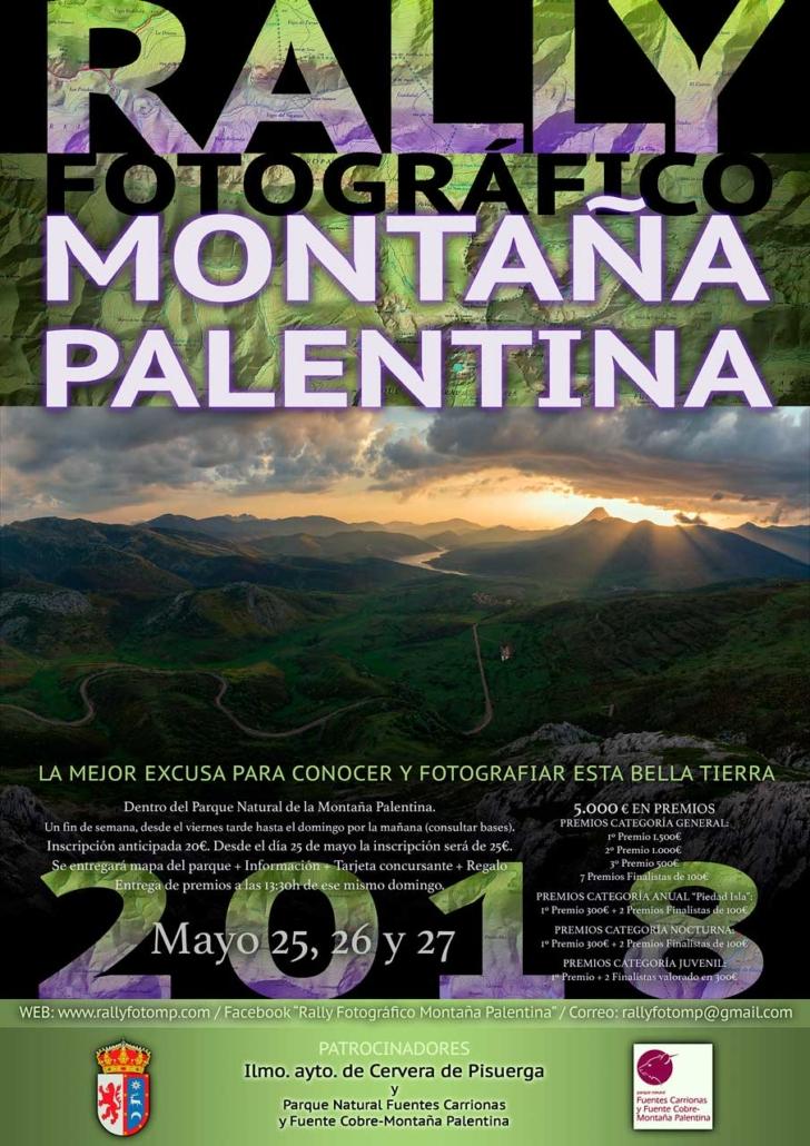 Rally Fotográfico para la Montaña Palentina Cartel